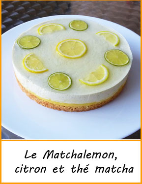 recette gateau original citron the matcha