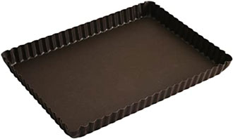 moule a tarte rectangle antiedherent gateau patisserie