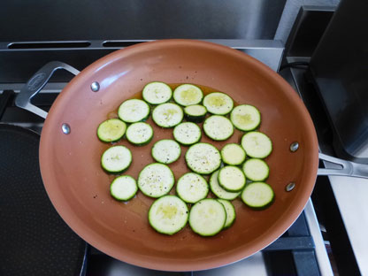recette gambas au gingembre courgettes